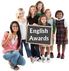 This page contains English awards and certificates for reading, writing, and spelling:  http://www.uniqueteachingresources.com/english-award-certificates.html