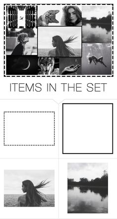 """""""again black and white"""" by heartandsoul ❤ liked on Polyvore featuring art"""