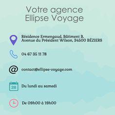 Contactez votre agence Ellipse Voyage