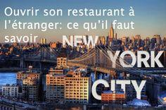 Ouvrir son restaurant à l'étranger: ce qu'il faut savoir
