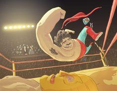 jouak // illustration & animation » Nacho Libre