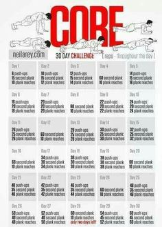 Core 30 Day Challenge
