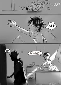 J: why r you leavin ~TT~ I m going to the bathroom you cry baby -D Superman X Batman, Superman Family, Batman Comics, Robin Tim Drake, Robin Dc, Superhero Memes, Superhero Kids, Damian Wayne, Jon Kent