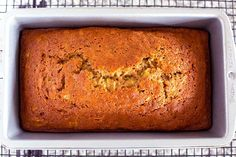 The Best Classic Zucchini Bread - The Wholesome Dish Easy Zucchini Bread, Zuchinni Bread, Buttermilk Banana Bread, Old Fashioned Bread Pudding, Bread Cake, Bread Food, Cranberry Bread, I Foods, Dessert Recipes