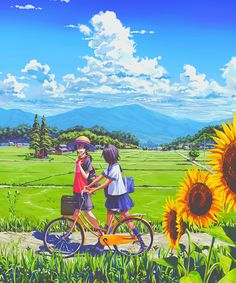 Often times, it's not about the boy or girl in the picture, but about the landscape, the scenery, the artist's attention to detail. That's what I love about anime and manga. Fan Art Anime, Anime Artwork, Anime Art Girl, Manga Art, Manga Anime, Anime Girls, Art Anime Fille, Graphisches Design, Scenery Wallpaper