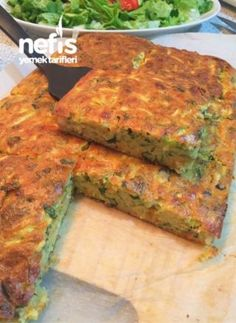 Otlu Kabak Böreği – Nefis Yemek Tarifleri – Vegan yemek tarifleri – The Most Practical and Easy Recipes Veggie Recipes, Appetizer Recipes, Appetizers, Cooking Recipes, Zucchini, My Favorite Food, Favorite Recipes, Turkish Sweets, Chicken Meatball Recipes