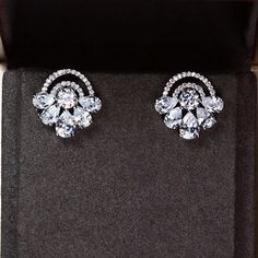 Zircon Earring JHZ-443 USD27.93, Click photo for shopping guide and discount