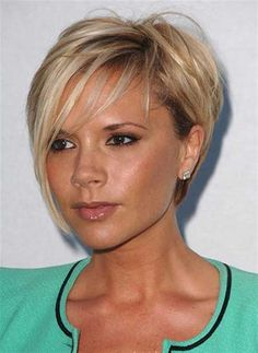 Short Asymmetric Bob. I think this is what I want - too bad I don't have a face like hers!  ;)