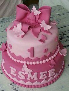 Fondant taart verjaardag