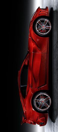 (°!°) Mansory Ferrari F12 La Revoluzione in Red Carbon #2bitchn