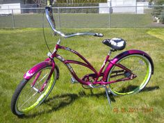 My Electra bike, cant wait to ride it, come on spring time!