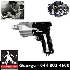 #ThrowBackThursday: The year that the first cordless power tool was invented was 1961. While NASA commissioned the inventions of cordless, power tools for use in the Gemini and Apollo programs, Black & Decker was responsible for the inventing. #tbt