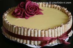 My Fancy Cake: Tort cu mousse de ciocolata si cocos