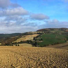 Winter is in the air! #valdorcia #monticchiello #tuscany