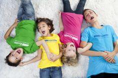 Camisetas de colores Somos Emoción