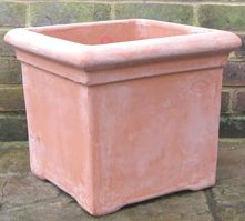 7 best Terracino terracotta pots images on Pinterest   Clay pots     Terracino terracotta pots  planters and troughs  Large hand made Italian  design  Buy online  London   UK delivery