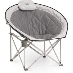 Core 40025 Equipment Folding Oversized Padded Moon Round Saucer Chair with Carry Bag #ad Folding Beach Chair, Folding Camping Chairs, Compact, Striped Chair, Upholstered Chairs, Ikea Chairs, Wingback Chair, Room Chairs, Bag Chairs