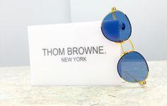 Peek-A-Blue. #ThomBrowne #sunglasses #CharlotteJonesOpticians #CJO