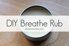 DIY Breathe Rub. Breathe is my favorite DoTerra blend oil!!