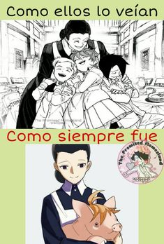 ¡Memes De The Promised Neverland! Otaku Anime, Anime Manga, Anime Art, Memes Estúpidos, Anime Lindo, Tsundere, Diabolik Lovers, My Land, Itachi