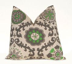 Euro Sham Decorative Throw Pillow Cover One 24 by FestiveHomeDecor, $25.00