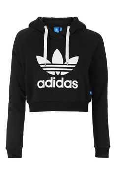 Cropped Hoodie by Adidas Originals