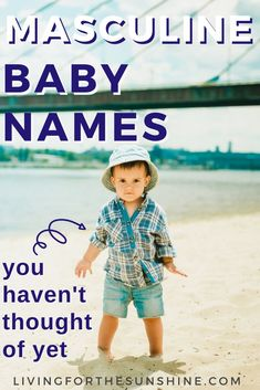 Looking for a strong, but underused name? This list of uncommon masculine names will help you find the perfect baby name for your baby boy! Vintage Baby Names, Unusual Boy Baby Names, Different Boy Names, Boy Middle Names, Cute Baby Names, Vintage Baby Girl Names, Vintage Boys, Retro Vintage, Unique Names