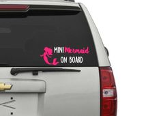 Mermaid Life Decal Any Color Any Size Custom Decal Custom - Mermaid custom vinyl decals for car