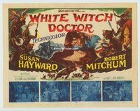 WHITE WITCH DOCTOR  title lobby card '53