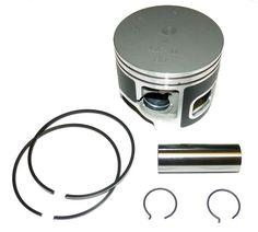 Yamaha 200-250 Hp 76 Degree Piston Kit 100-285pk STD SIZE PORT SIDE 62J-116