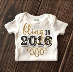 Bling in 2016 Onesie