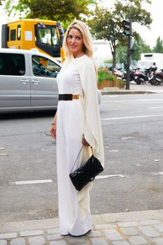 Fall 2013 Couture Fashion Week Street Style - Paris Street Style