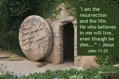 Jesus Arose ~ the Tomb is EMPTY!