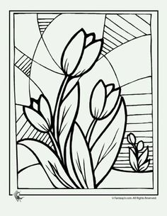 spring flower coloring pages | flowers coloring sheet | templates ... - Coloring Pages Spring Flowers