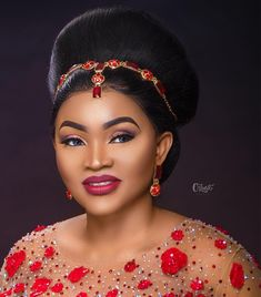 Mercy Aigbe Again! Tailor Accuses Dressmaker Of Lending Her Wedding Dress To Mercy For Photoshoot