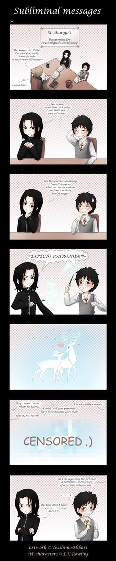 HP - Subliminal messages by Tenshi-no-Hikari on deviantART. Tee hee