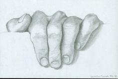 pencil drawings by Kazuha Canak, via Behance