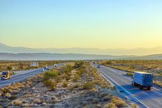 I-10 passing thru Blythe, California