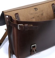 Horween Swiss Military Saddlebag #30 - Designing and crafting premium leather goods since 1981