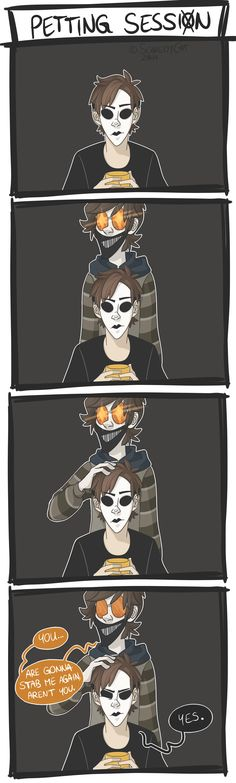 Petting Session by on DeviantArt Petting Session by on DeviantArt,Horror Killers Petting Session by on DeviantArt Related ideas funny comics creepypasta for Wallpaper Creepypasta Ticci Toby, Creepypasta Cute, Creepypasta Proxy, Hoodie Creepypasta, Creepy Pasta Family, Creepy Pasta Funny, Eyeless Jack, Dhmis, Laughing Jack
