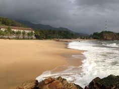 Qui Nhon-Beachside  from the Avani Resort