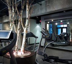 LEMAYMICHAUD | Quebec | Architecture | Interior Design | Hotel | Auberge Saint-Antoine Architecture Design, Spa, Saints, Gym, Entertainment, Architecture Layout, Architecture