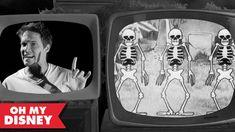 Tom Thum Skeleton Dance Remix | Oh My Disney