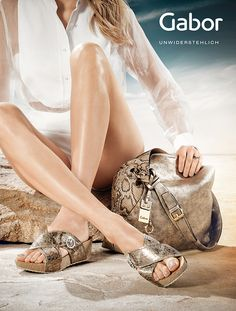 www.joergschieferecke.com for GABOR, campaign, Shoes, Accessoires
