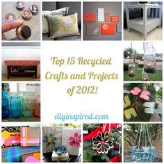 Top 15 Artesanato e Projetos de 2.012 Reciclado