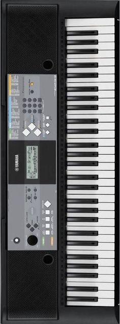 Yamaha PSR-E233 61-key Portable Keyboard with Survival Kit B2