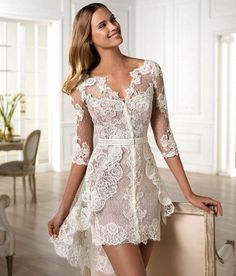 Very Sexy Wedding Dresses | stairs on the day of your wedding. So make sure the dress is not very ...