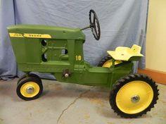 John Deere Pedal Tractors