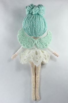 Luciella The Winter Fairy Amigurumi Pattern