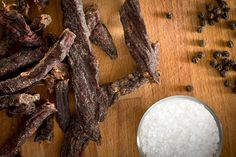 """Black Pepper Deer Jerky Recipes INGREDIENTS: 2 lbs Deer meat – All fat trimmed off and cut into ¼"""" thick strips 2 cups Soy sauce ½ cup Worcestershire sauce 3 cups Amber ale or lager of your choice 2 tbsp Cracked black pepper PROCEDURE: Mix all the ingredients in plastic bags and marinate overnight. Set …"""